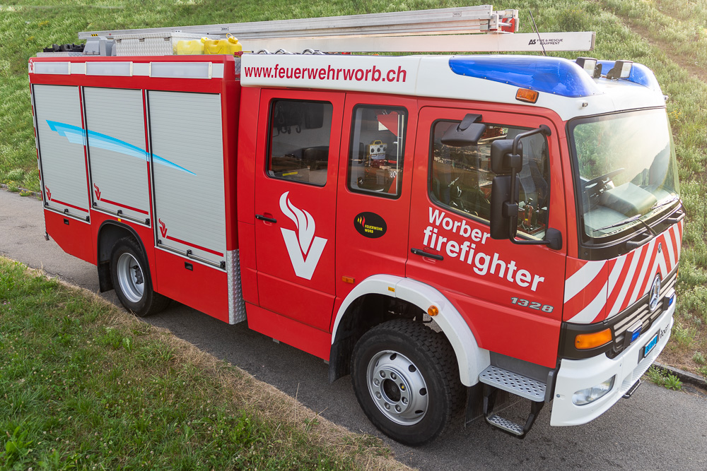 Tanklöschfahrzeug TLF Worb